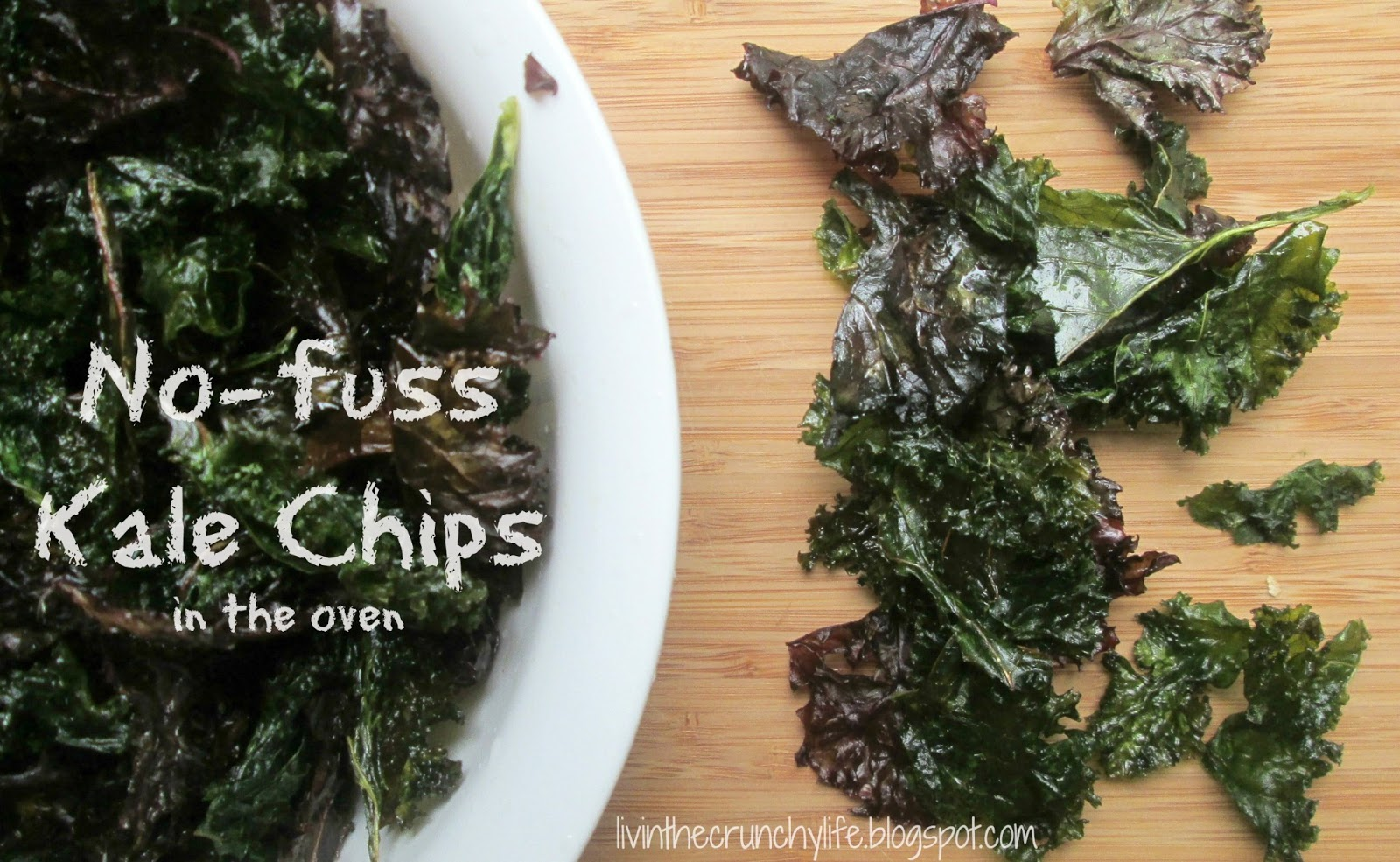 No-Fuss Kale Chips in the Oven