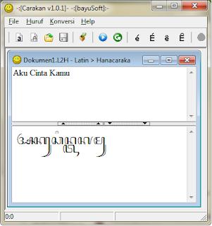 carakan translate bahasa jawa ke aksara jawa