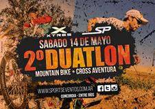 Duatlon Mountain Bike + Cross Aventura