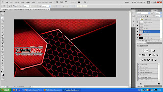 Template Start Screen PES 2013 by Ginda01