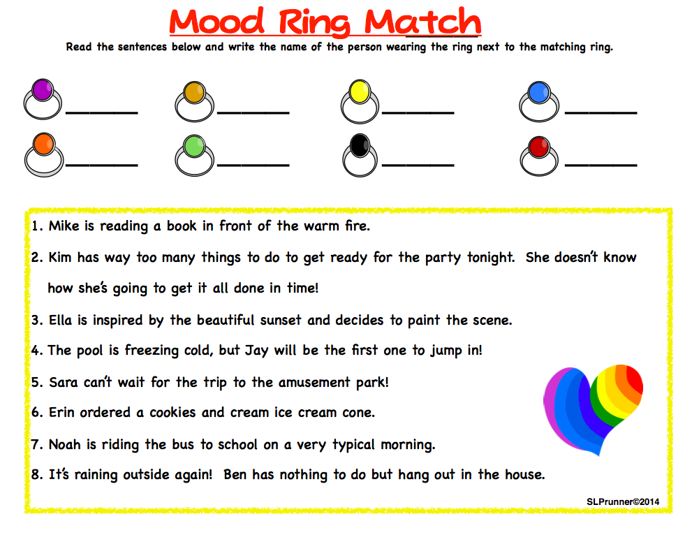 Mood Ring Color Chart For Kids Rebellions