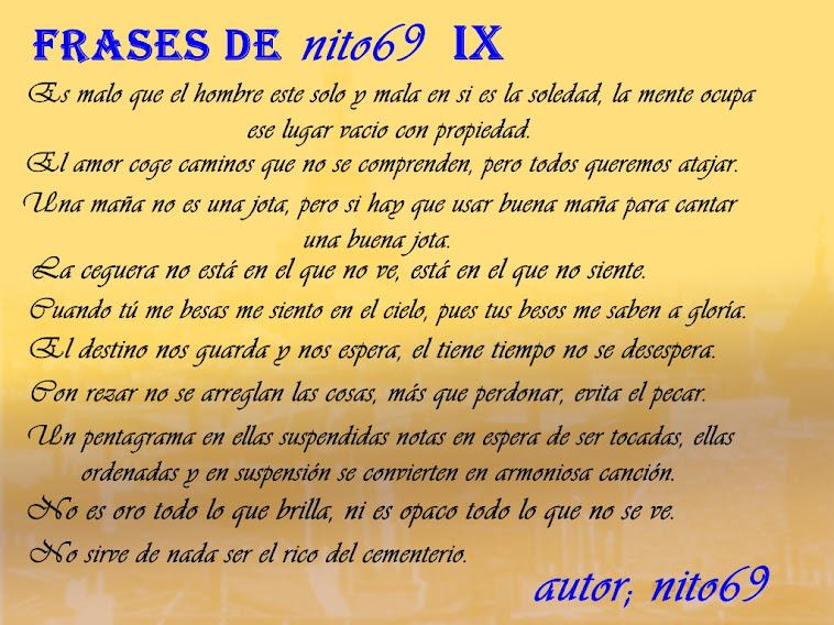 FRASES DE nito69 IX