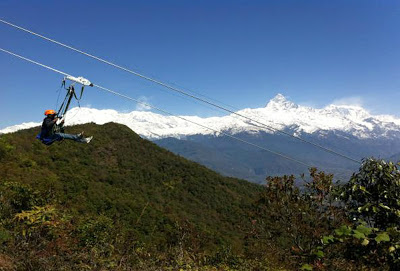 ZipFlyer - Nepal - segunda maior tirolesa do mundo