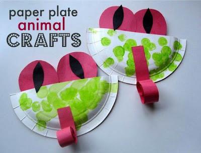 Żaba z papieru DIY Eco Manufaktura
