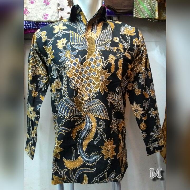 Kemeja Batik Pria Lengan Panjang  BATIK JAWA MODERN