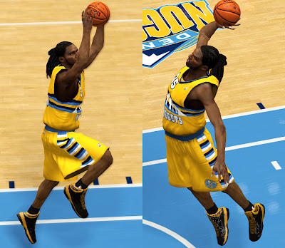 NBA 2K13 Adidas 'Crazy Fast' Shoes Patch Kenneth Faried