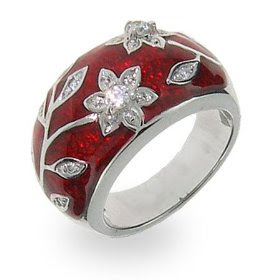 Unique Ruby Ring
