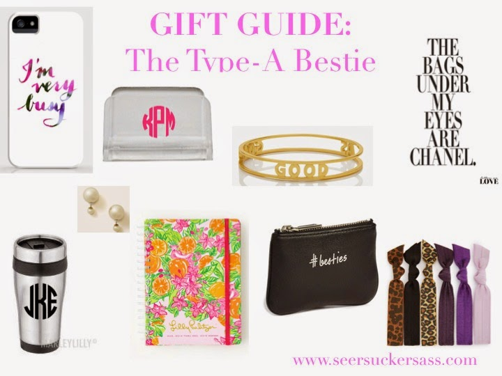 Gift Guide:  The Type-A Bestie