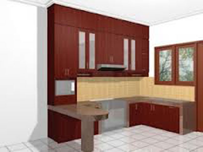 Model Kitchen Set Modern