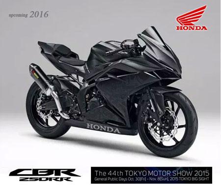 Honda CBR250RR 2-silinder 2016