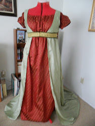 Regency Ball Gow and Open Robe