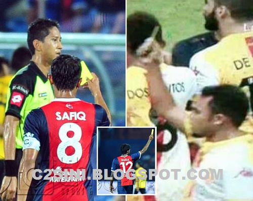 Punca Pengadil Liga Super dilayangkan Kad Kuning oleh pemain, info, terkini, sensasi, sukan, bola sepak,
