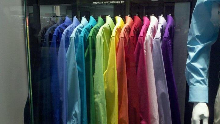 12 Dress Button-up Shirts