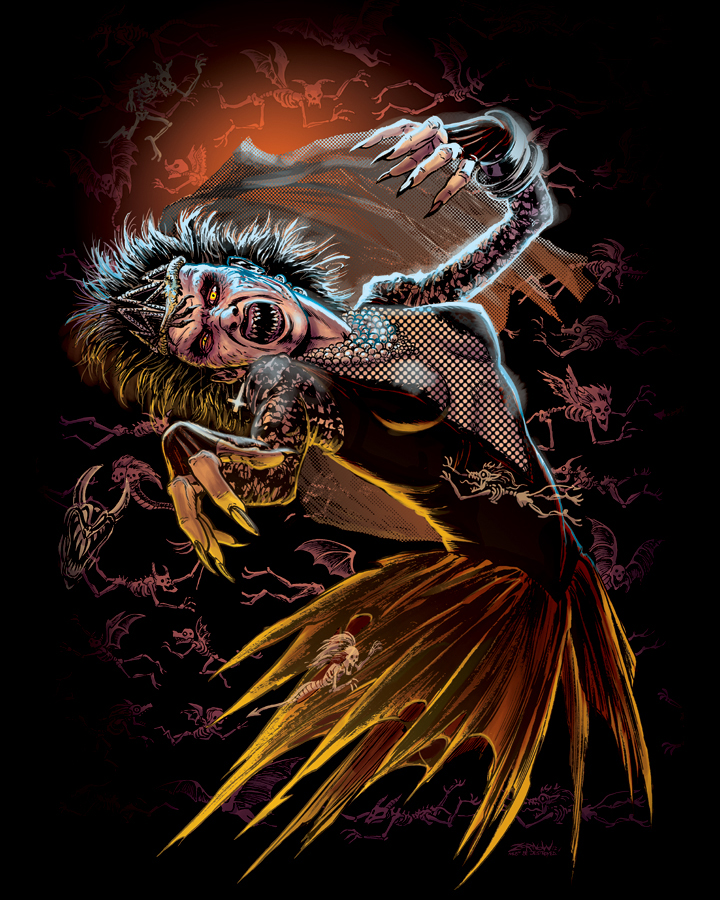 Demons Movie t Shirt Night of The Demons T-shirt by