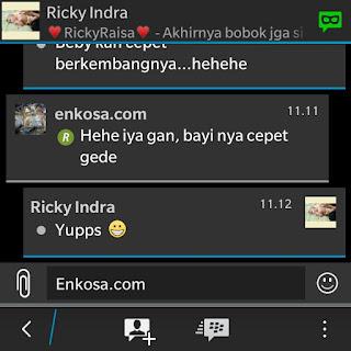 Testimoni Ricky Indra di enkosa sport toko online terpercaya