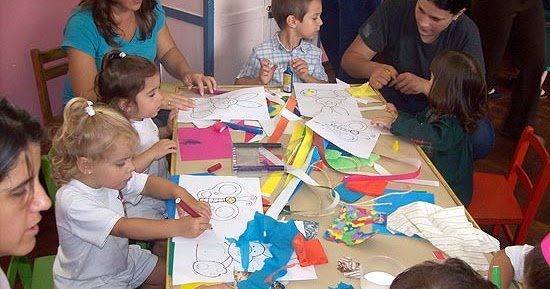 Instituci n educativa inicial n 314 miraflores for Azul naranja jardin de infantes