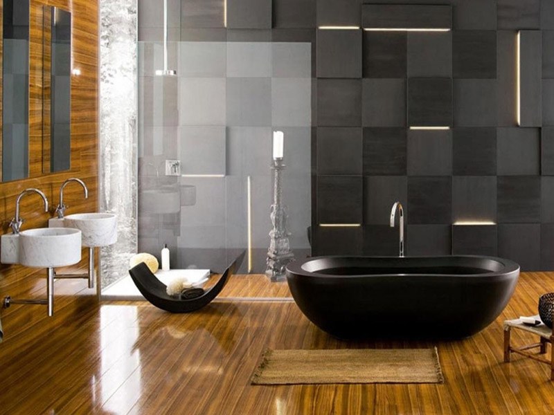 gallery of small luxury bathroom design