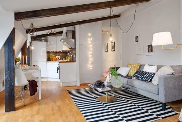 pequeño apartamento area social