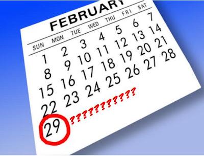 tahun kabisat 29 februari