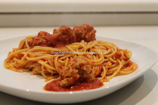 spaghetti with meatballs....[c'era una volta lilly e vagabondo....]