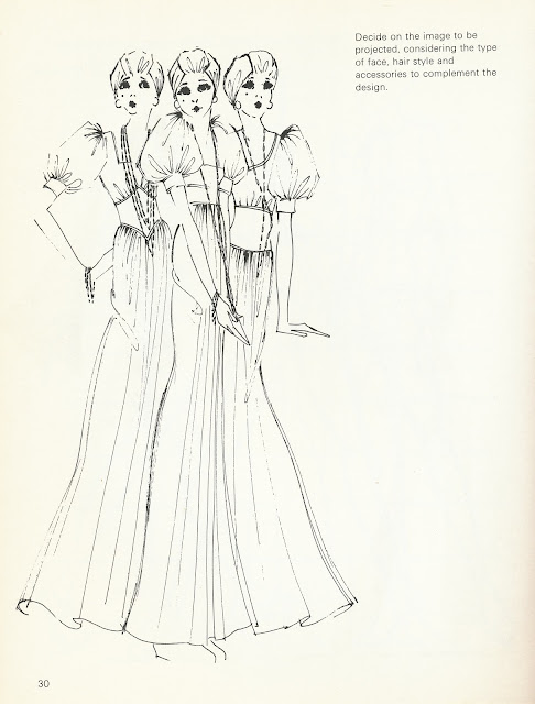 Theredtele Hon Book Fashion Drawing For Advertising