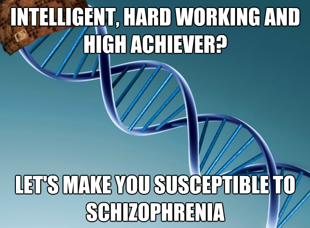 Scumbag+Genes genetic memes lounge schizophrenia forums,Genes Memes