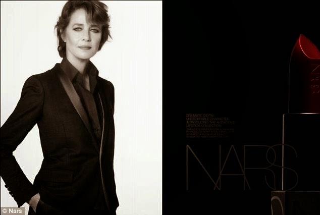 Charlotte Rampling for Nars