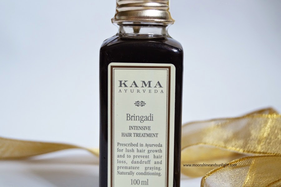 Kama Ayurveda Bringadi Intensive Hair treatment Review and price in India