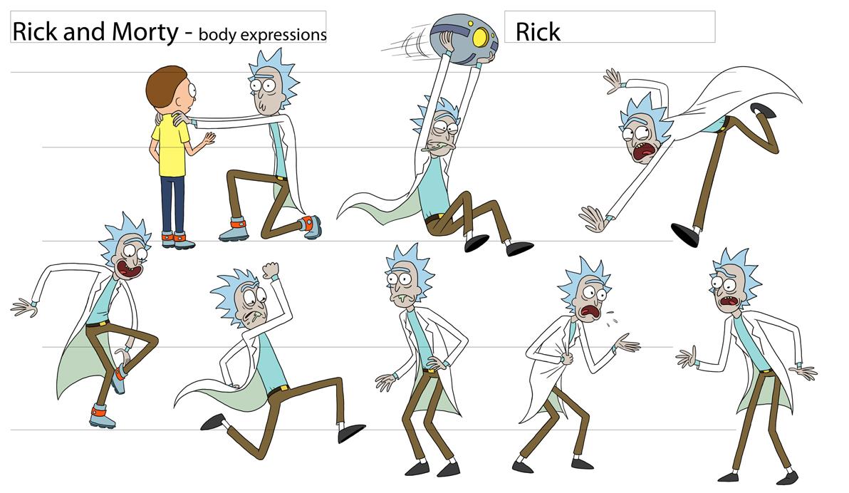 Art Justin Roiland Adult Swim Pilot Character Designs