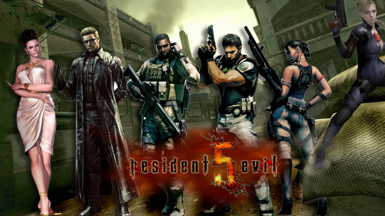 Residen Evil 5 Full Version