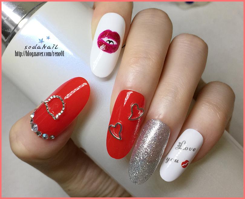 Sodanail self lip nail art design self lip nail art design prinsesfo Choice Image
