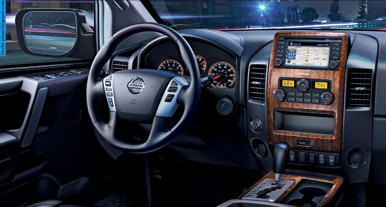 Nissan titan car 2013 dashboard - صور تابلوه سيارة نيسان تيتان 2013