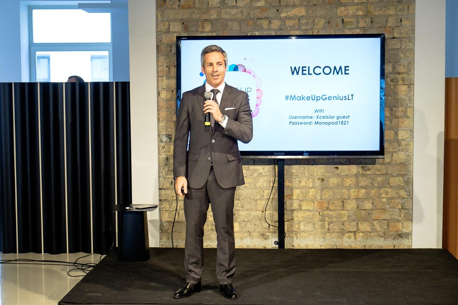 """Nuno Ferreira, """"L'Oréal Baltic"""" vartojimo produktų skyriaus vadovas."""