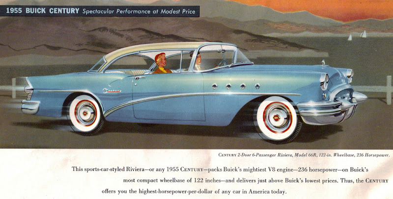 Oturga l g t rge ler american automobile brochure part 5 for 1955 buick century 2 door hardtop