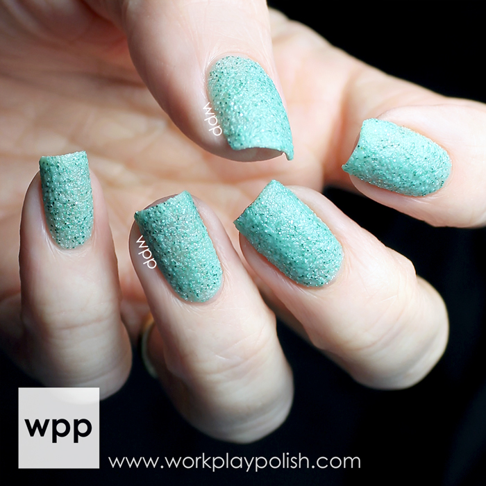 China Glaze Teal the Tide Turns from the Sea Goddess Collection