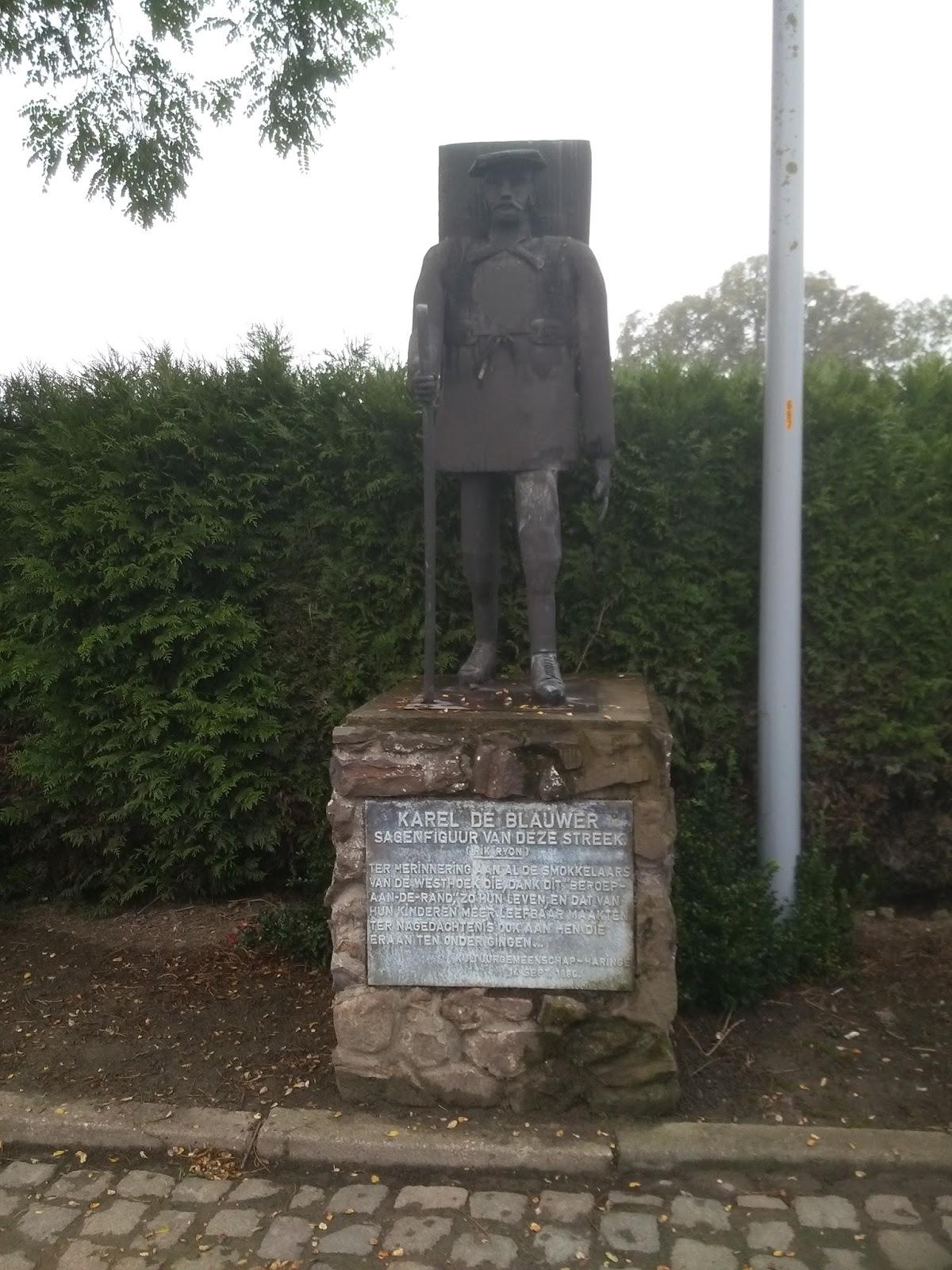 Monument Karel de Blauwer
