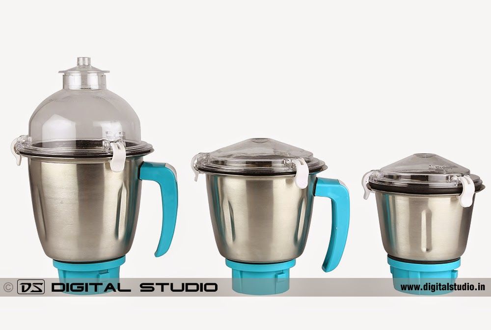 Mixer grinder jars with lids