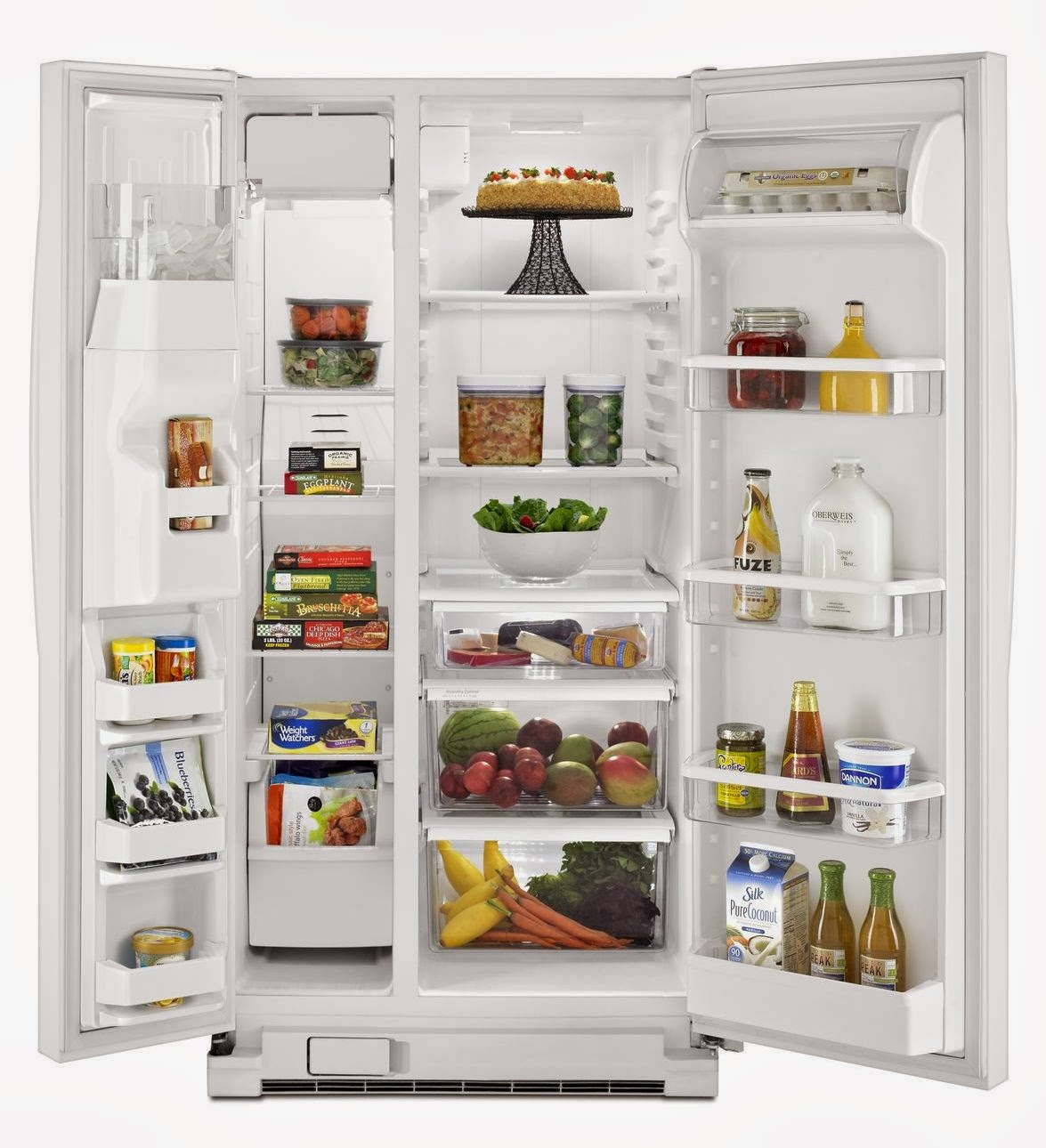 whirlpool refrigerator brand whirlpool 22 cf side by side refrigerator. Black Bedroom Furniture Sets. Home Design Ideas