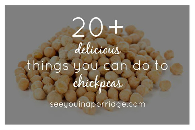 20+ Delicious Chickpea Recipe Ideas - Snacks, with meat, without meat - even dessert!