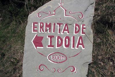 Señal Ermita de Idoia