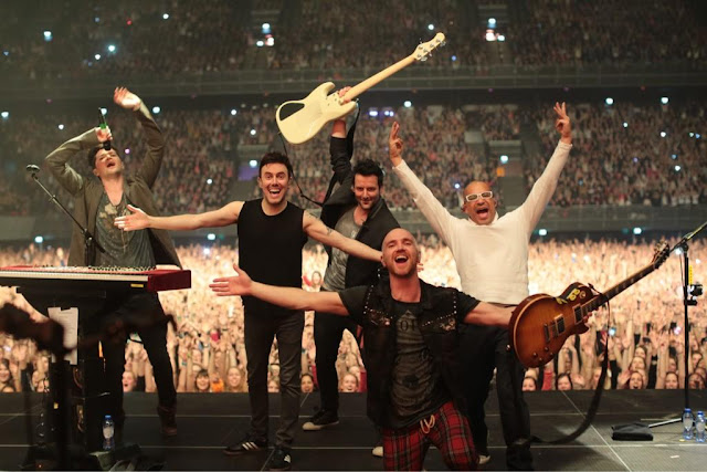 the script ziggo dome concert