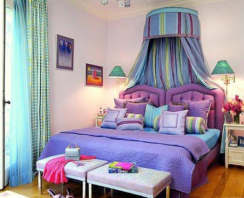 Bedroom purple furniture interior home design ideas and alternative - Nice bedrooms for girls purple ...