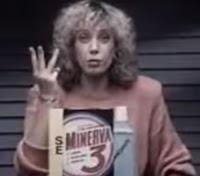 Propaganda do Sabão Minerva, apresentado em 1988 pela jornalista Marília Gabriela.