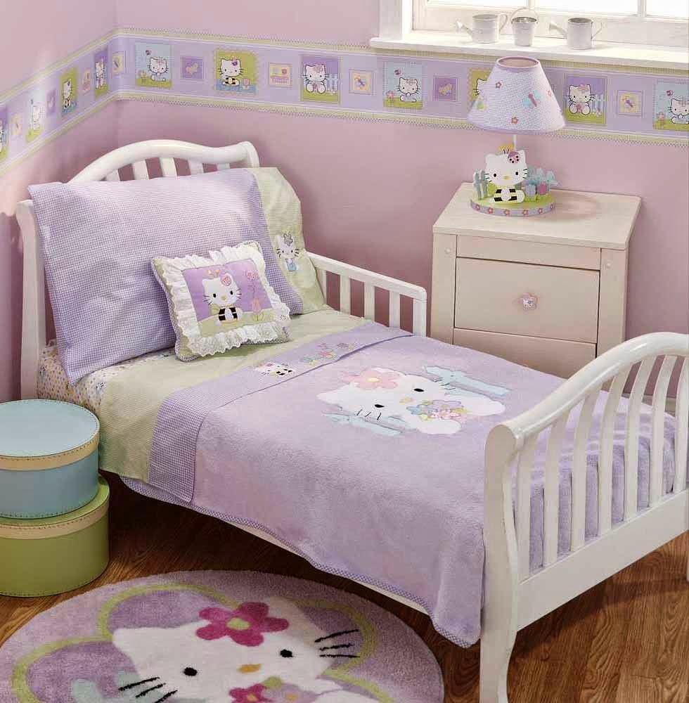 desain kamar tidur anak perempuan ukuran kecil