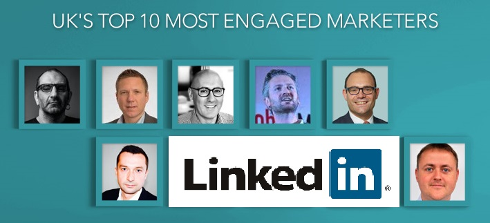 UK's Top Marketer by LinkedIn