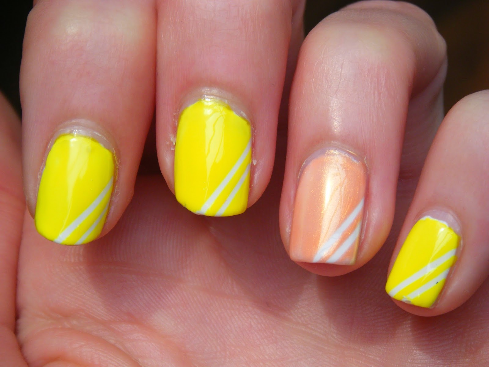 Golden Oldie Thursday - Yellow / Peach