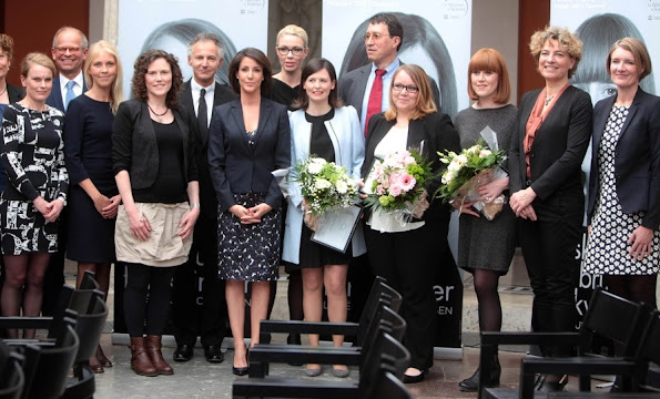 Princess Marie attends Scholarships for Women in Science