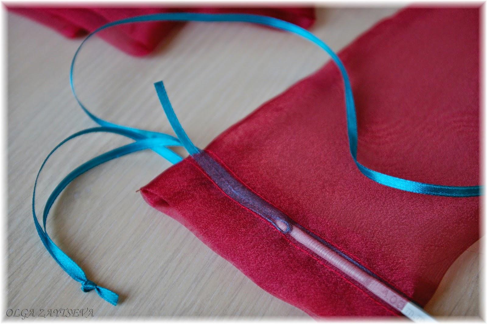 Органза мешочек своими руками