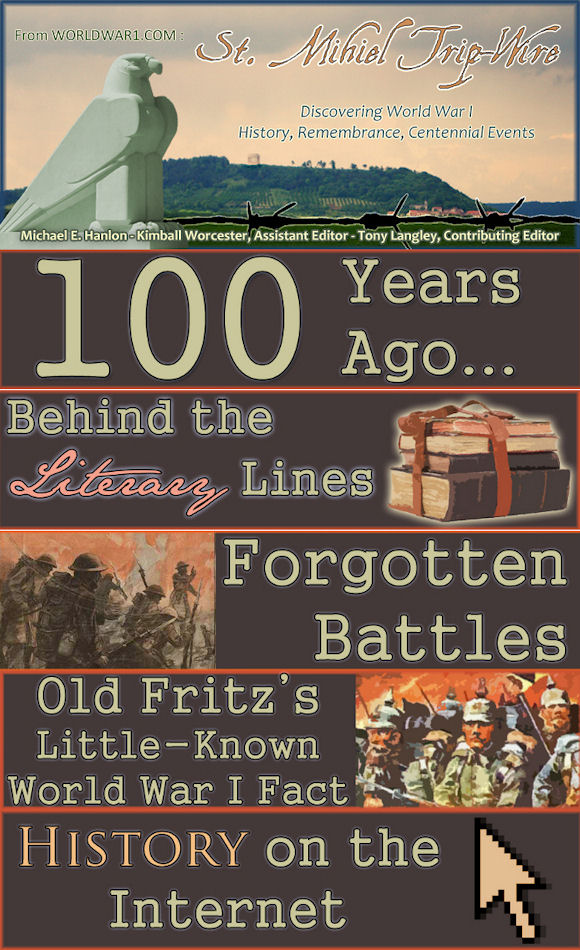 Roads To The Great War September 2015
