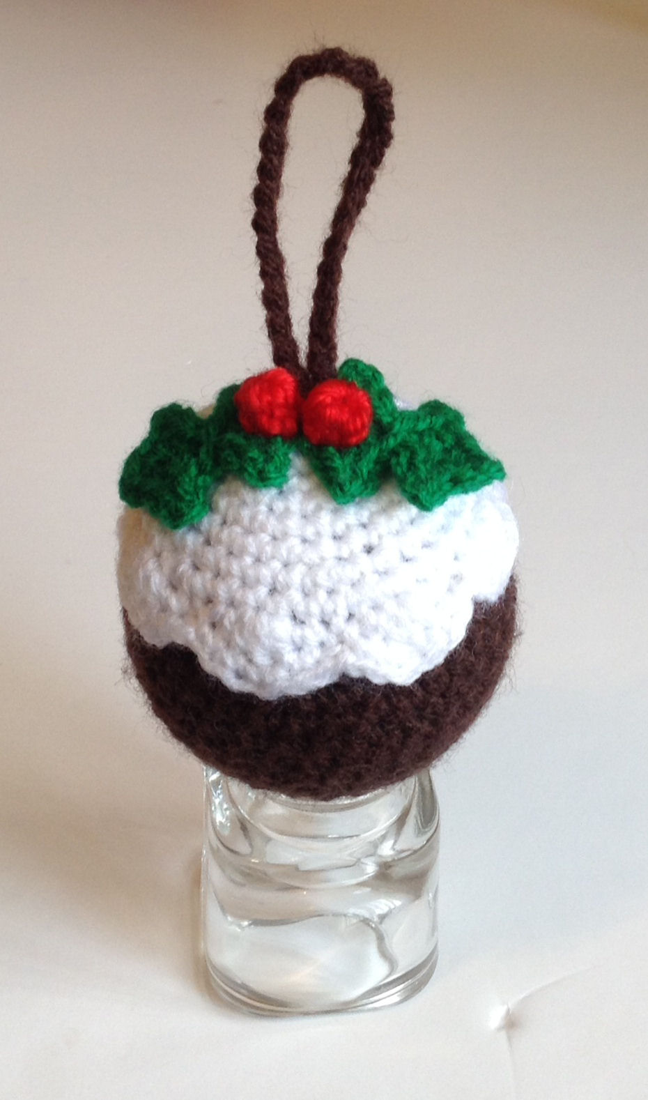 Free Crochet Pattern Christmas Bauble : Sooz In The Shed...: Crochet Christmas Pudding Bauble ...